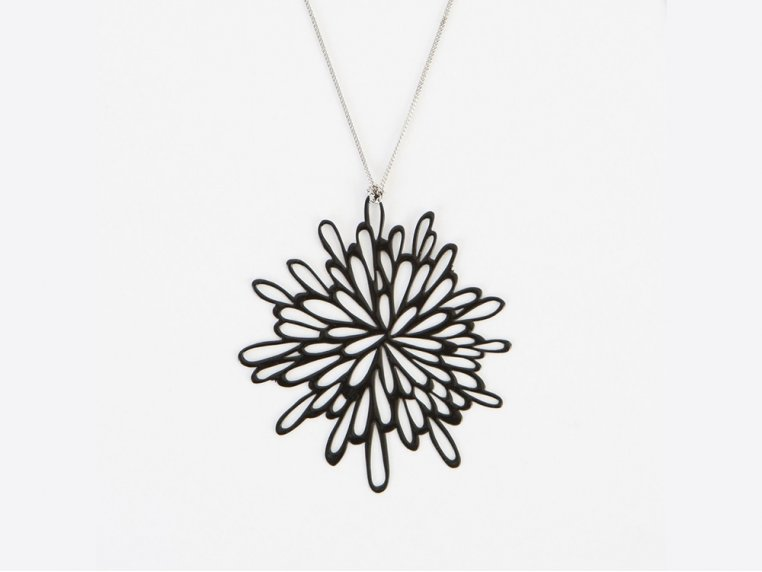 Starburst Pendant Necklace by Pop-Out Jewelry - 7