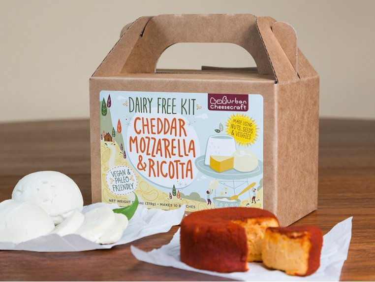 Dairy-Free DIY Cheese Kit by Urban Cheesecraft - 2