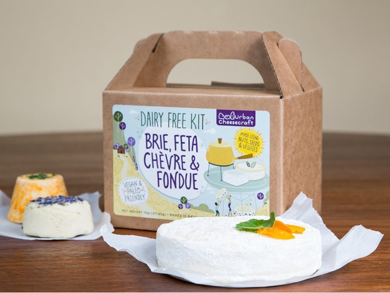 Dairy-Free DIY Cheese Kit by Urban Cheesecraft - 1