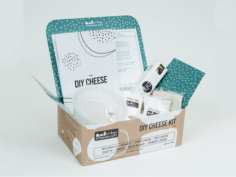 Deluxe Cheese Making Kit by Urban Cheesecraft - 2