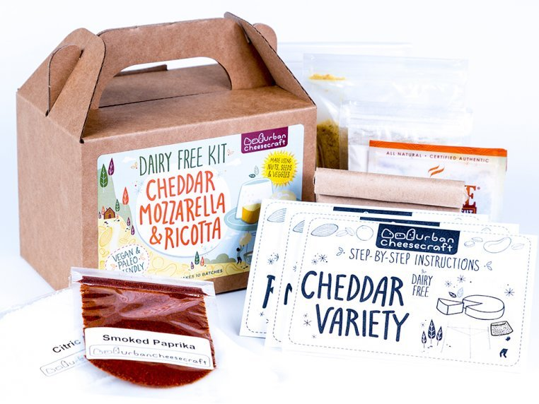 Dairy-Free DIY Cheese Kit by Urban Cheesecraft - 3