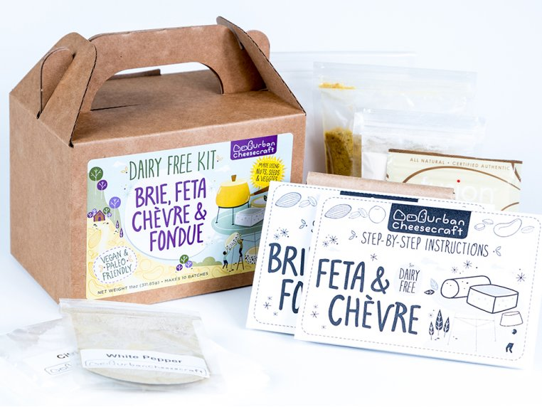 Dairy-Free DIY Cheese Kit by Urban Cheesecraft - 4