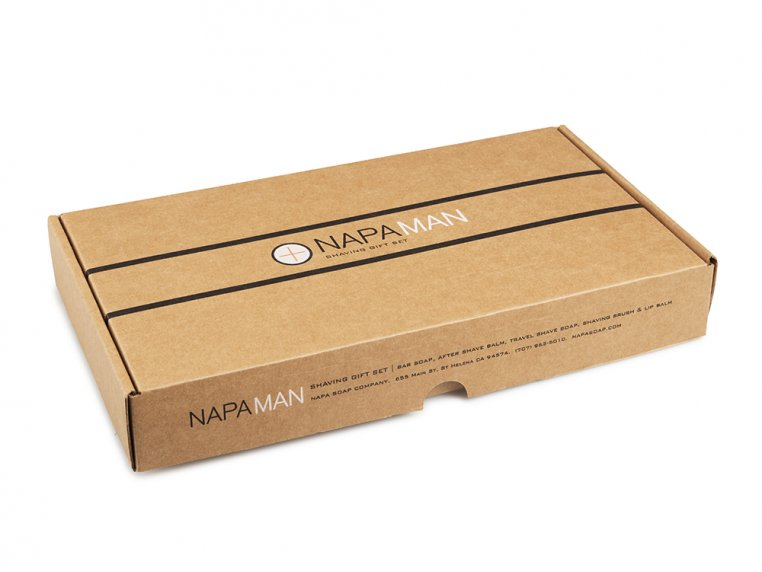 NapaMan Gift Set by Napa Soap Company - 5