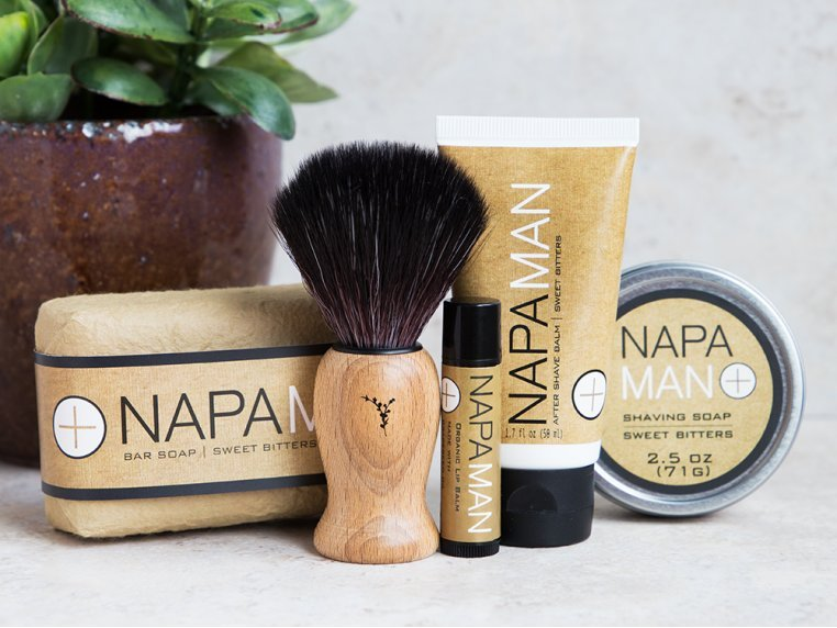 NapaMan Gift Set by Napa Soap Company - 1