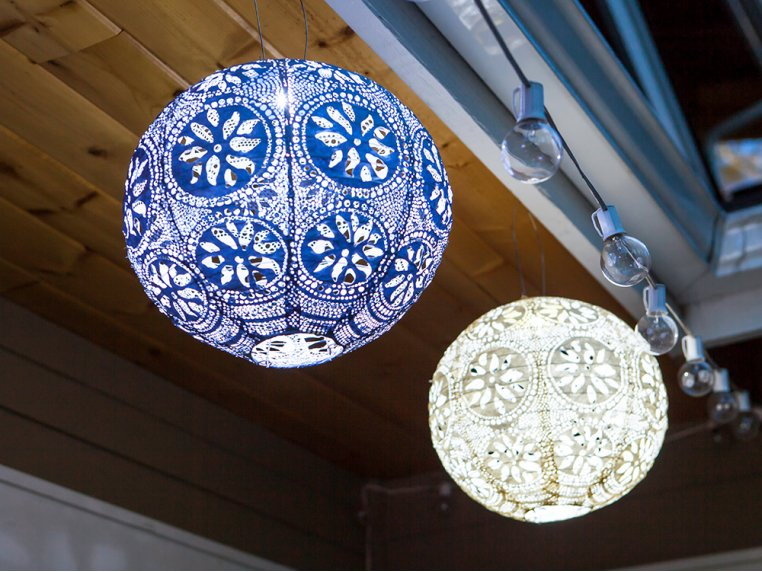 Soji Stella Solar Boho Lantern by Allsop Solar Lighting - 1