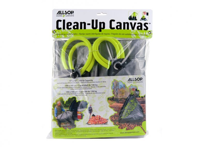 Clean-Up Canvas Tarp with Handles by Allsop Home & Garden - 6