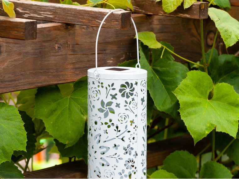 Punched Metal Bloom Lanterns by Allsop Home & Garden - 2