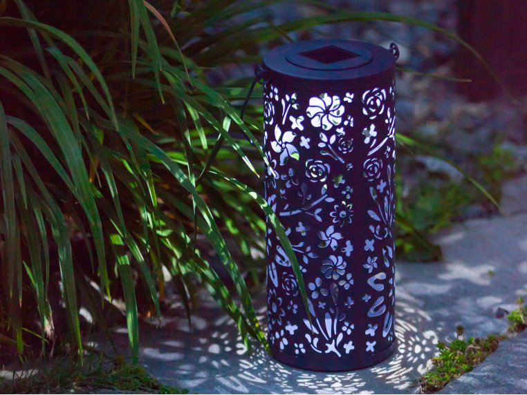 Punched Metal Bloom Lanterns by Allsop Home & Garden - 3