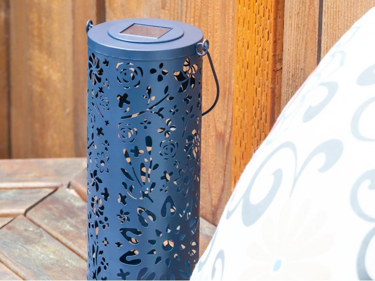 Punched Metal Bloom Lanterns by Allsop Home & Garden - 4