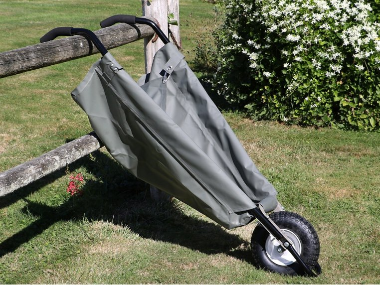 WheelEasy Foldable Canvas Wheelbarrow by Allsop Home & Garden - 2