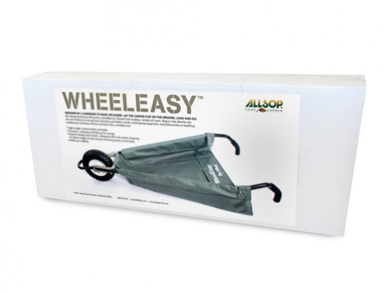 WheelEasy Foldable Canvas Wheelbarrow by Allsop Home & Garden - 4