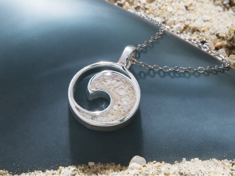 Wave Necklace by Dune Jewelry - 2