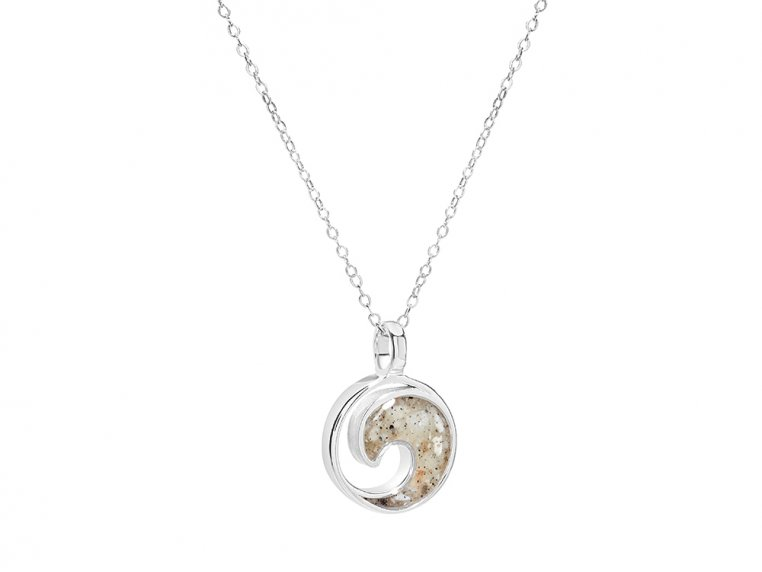 Wave Necklace by Dune Jewelry - 3