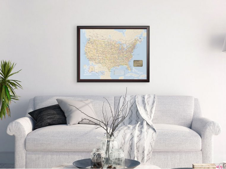Personalized Traveler Maps by Map Your Travels - 2