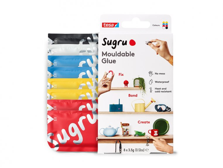 Moldable Rubber Mini Packs by sugru - 8