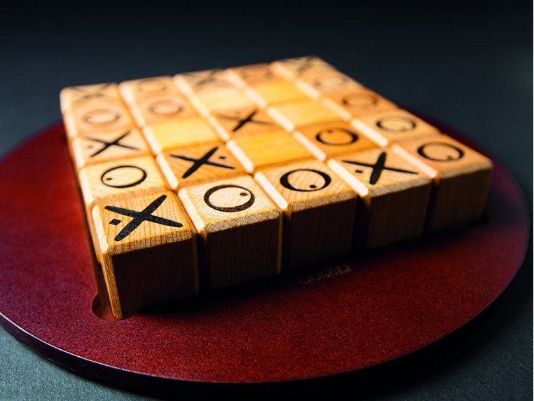 Quixo Wooden Strategy Board Game by Gigamic - 1