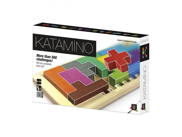 Katamino Brain Teaser Puzzle by Gigamic - 1