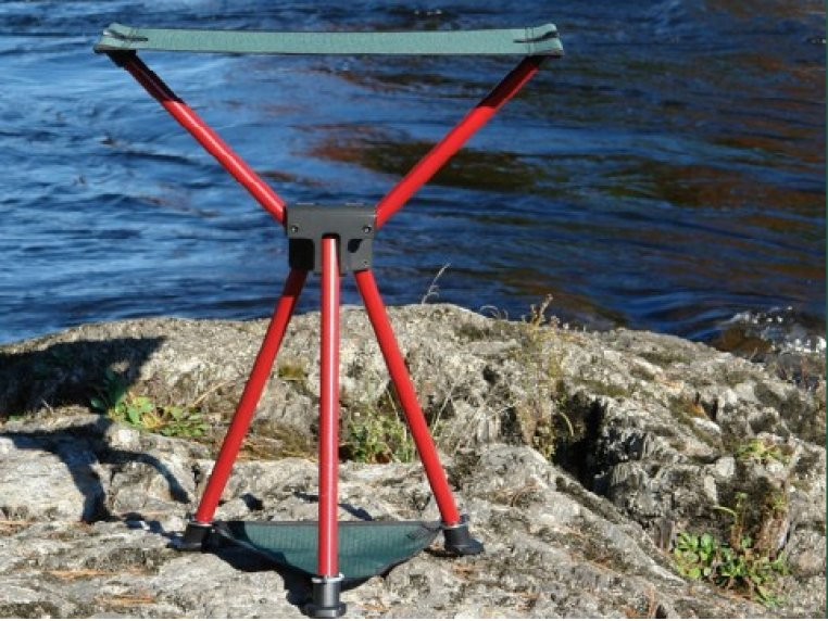 Tri Lite Folding Stool by Byer of Maine - 1