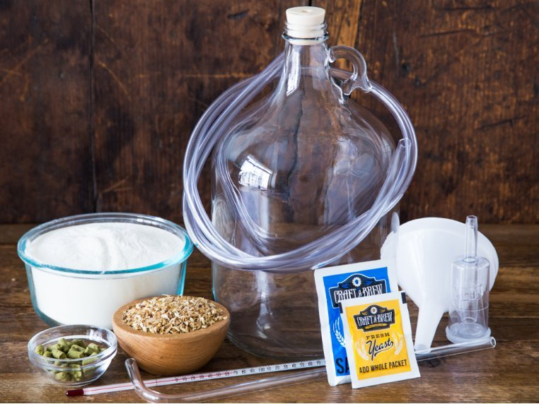 Premium Beer Making Kit by Craft a Brew - 1