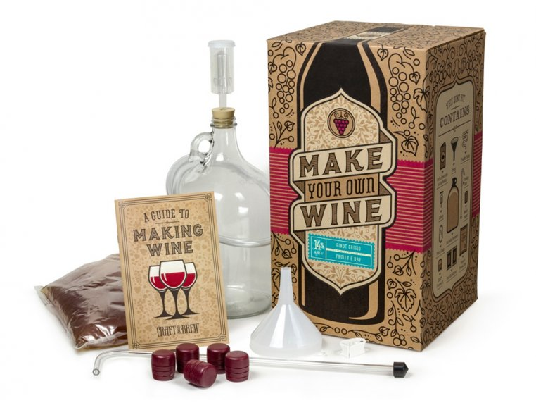 Premium Wine Making Kit by Craft a Brew - 3