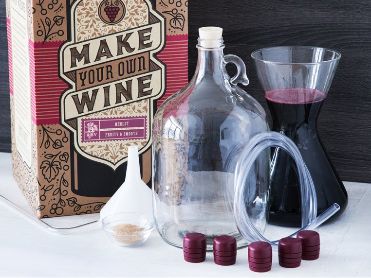 Premium Wine Making Kit by Craft a Brew - 1