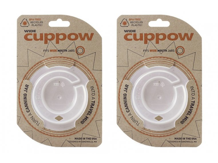 Wide-Mouth - Set of 2 by Cuppow - 5