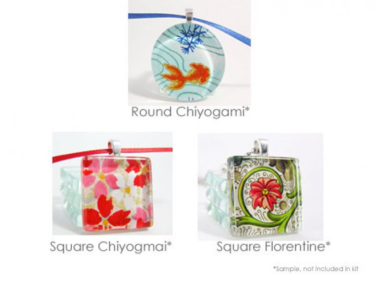 Glass Pendant Kits by Annie Howes - 2