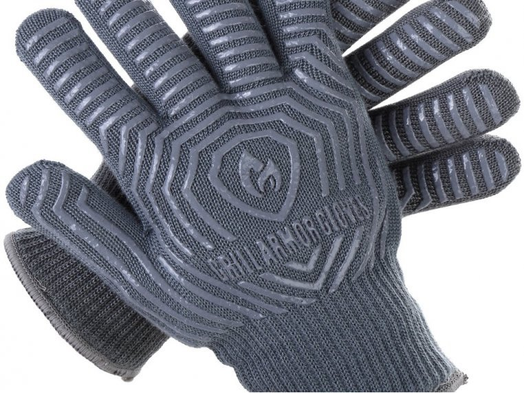 Heat-Resistant Cooking & Grilling Gloves by Grill Armor Gloves - 8