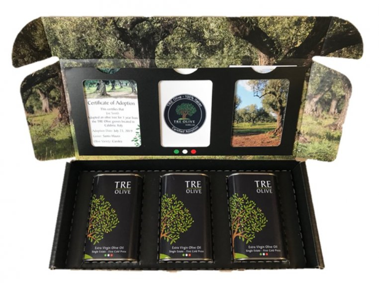 Olive Tree Adoption & Oil Assortment by TRE Olive - 3