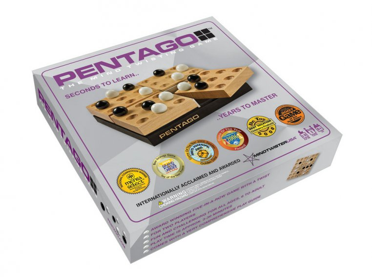 Pentago Strategy Board Game by Continuum Games - 5