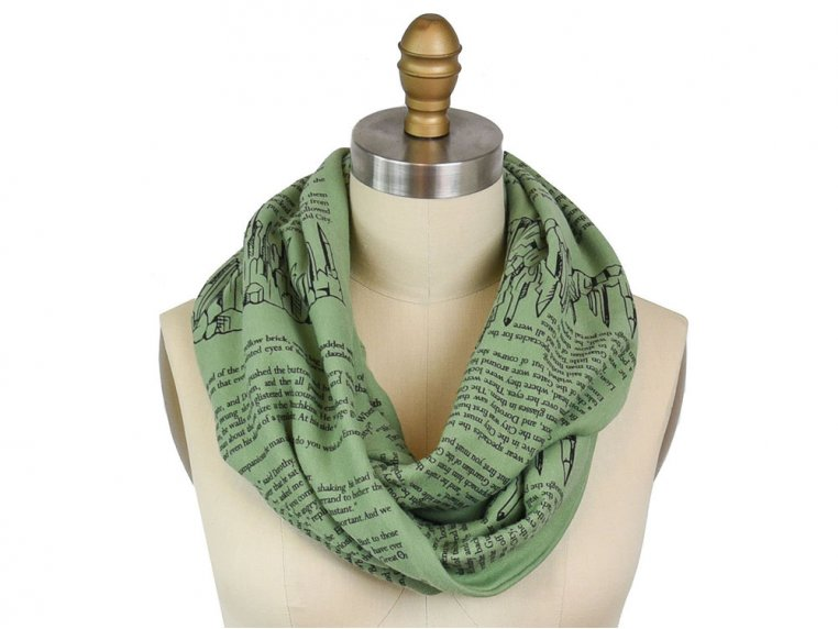 Book Themed Infinity Scarf by STORIARTS - 26