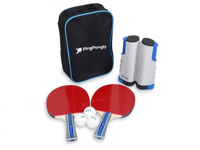 Retractable Table Tennis Net Set by PingPongly™ - 4