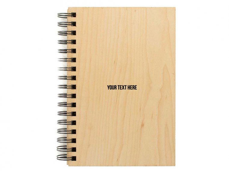 Custom Wooden Cover Weekly Planner by Woodchuck USA - 1