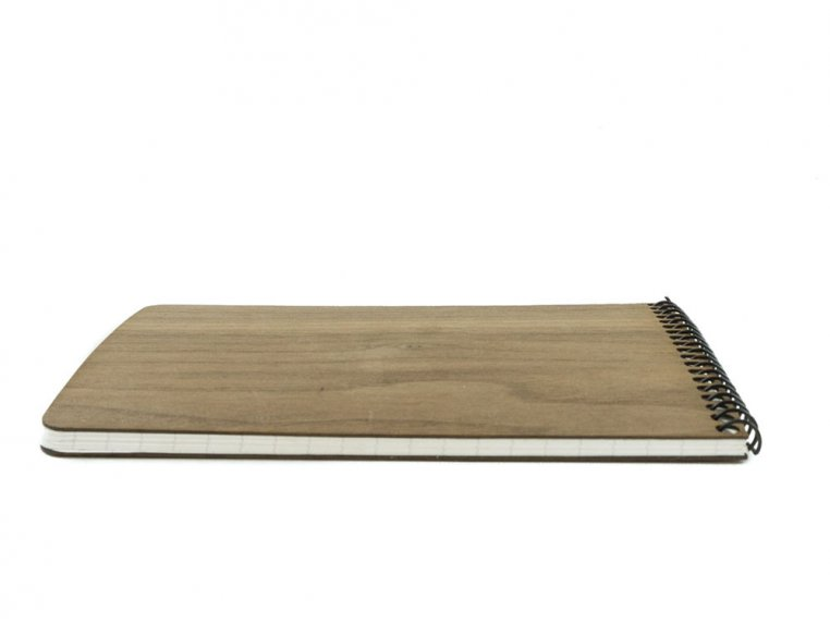 Custom Wooden Cover Notepad by Woodchuck USA - 3