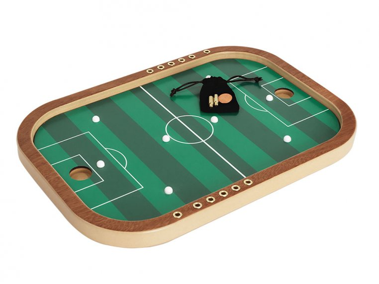 Wooden Tabletop Penny Soccer Game by Across The Board - 4
