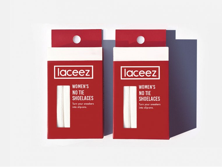 Women's No Tie Shoelaces - 2-Pack by Laceez - 5