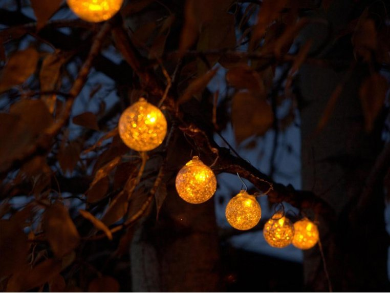 Aurora Solar Glass String Lights by Allsop Solar Lighting - 2