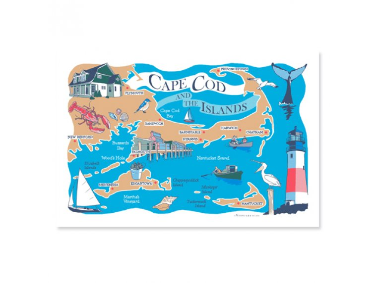 Destinations Tea Towels by Vestiges - 9
