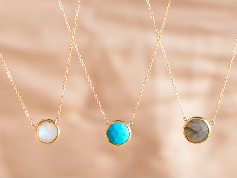 Gemstone Pendants by Kyle Chan Design - 2
