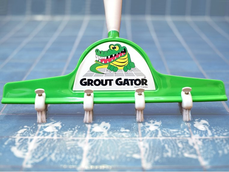 Grout and Tile Cleaning Brush by Grout Gator - 1