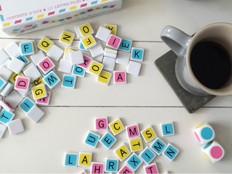 The Colorful Crossword Game by Candygrams - 3