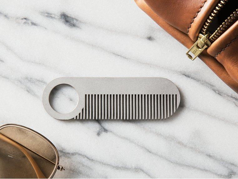 Comb Model No. 2 & Sheath by Chicago Comb Co. - 2