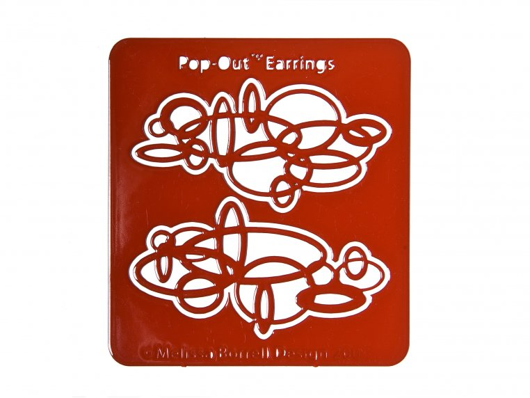 Circles Earrings by Pop-Out Jewelry - 3