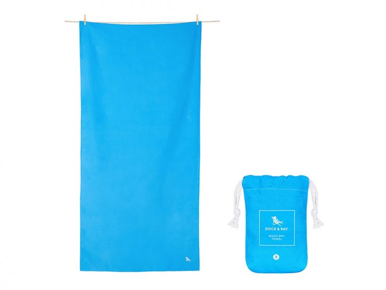 Quick-Drying Microfiber Travel Towel by Dock & Bay - 6