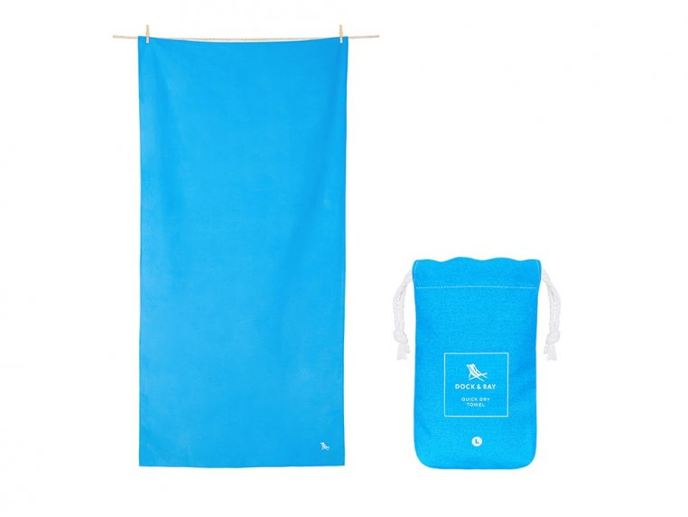 Quick-Drying Microfiber Travel Towel by Dock & Bay - 7