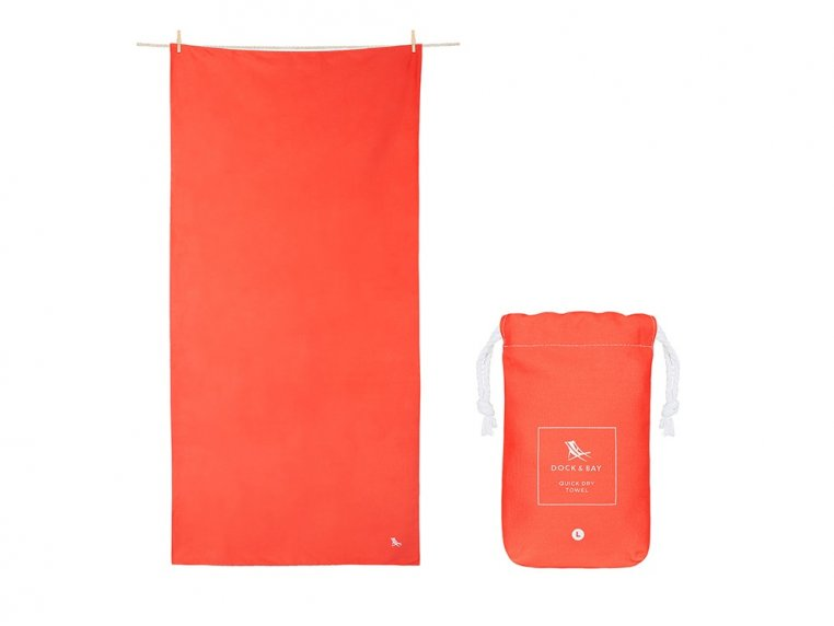 Quick-Drying Microfiber Travel Towel by Dock & Bay - 8