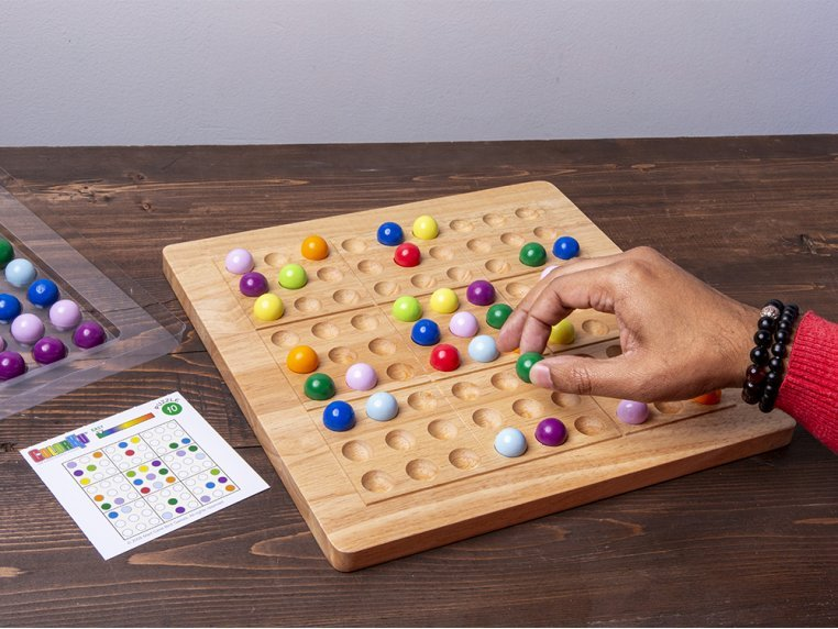 Sudoku in Color Board Game by ColorKu - 1