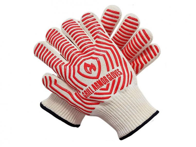 Heat-Resistant Cooking & Grilling Gloves by Grill Armor Gloves - 5