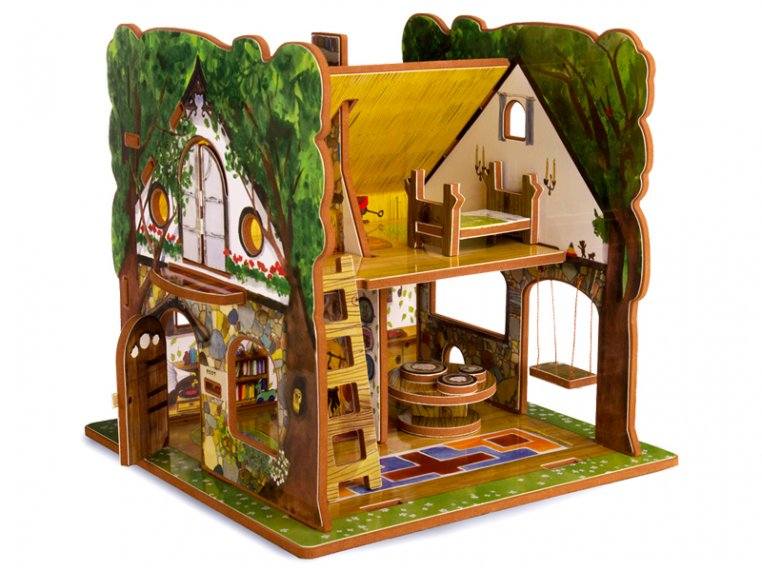 House & Storybook by Storytime Toys - 9
