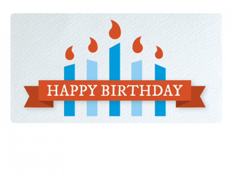 Happy Birthday by Email Gift Card - 1